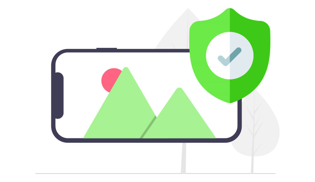 Keep your photos secured, just like videos and photos in the cloud